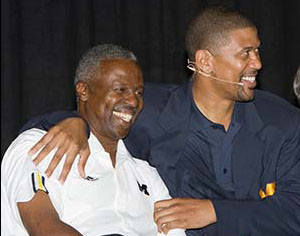 Greg Harden, Jalen Rose, Bill Martin